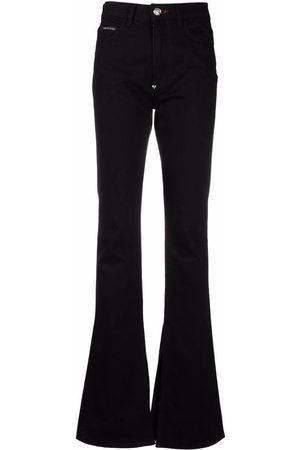 Philipp Plein High-rise flared jeans