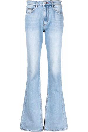 Philipp Plein High-waisted flared jeans