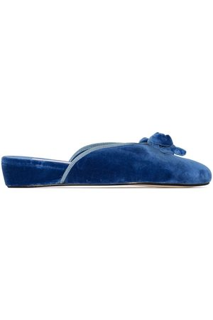 Olivia Morris At Home Ženy Pantofle - Daphne velvet slippers