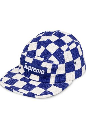 Supreme Kšiltovky - Checkerboard Boucle camp cap