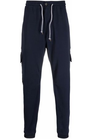 Brunello Cucinelli Drawstring-fastening waist track pants