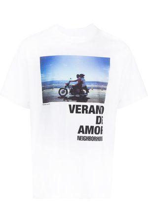 NEIGHBORHOOD Graphic-print short-sleeved T-shirt