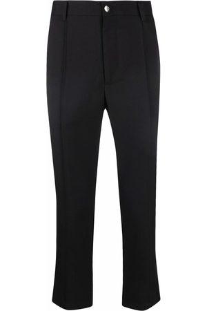 Goodfight Permapress cropped straight-leg trousers