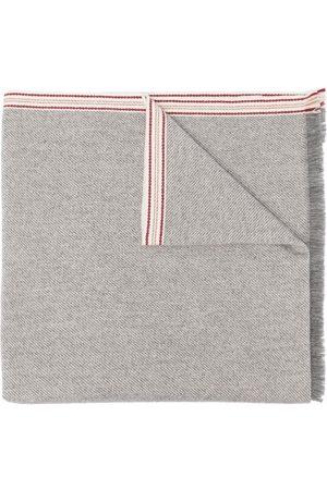 Brunello Cucinelli Muži Šály a šátky - Stripe detailing scarf