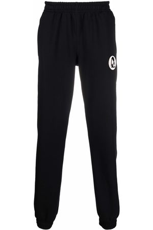 Styland Embroidered-design track pants