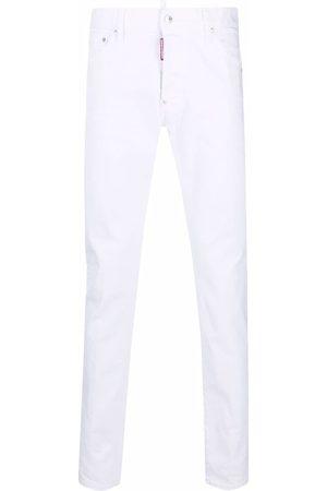 Dsquared2 Muži Skinny - Logo patch skinny jeans