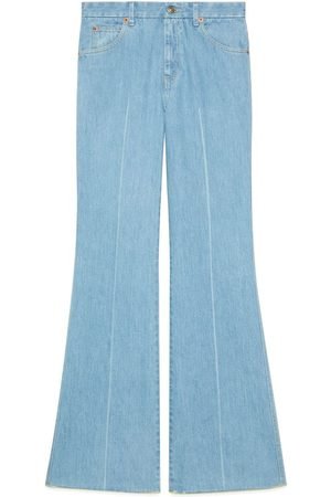 Gucci Eco-washed flared jeans