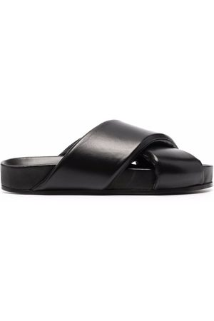 Jil Sander Crossover-strap sandals