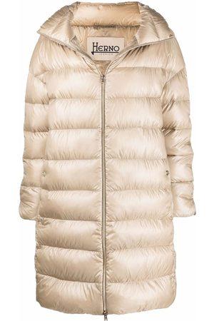 HERNO Ženy Trenčkoty - Down-feather mid-length coat