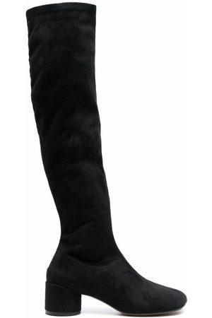 MM6 MAISON MARGIELA Ženy Nad kolena - 55mm knee-high boots