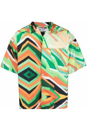 Formy Studio Abstract-print short-sleeve shirt