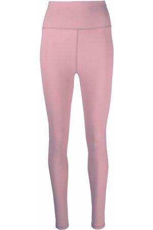 ROTATE Ženy Legíny - High-waisted logo leggings