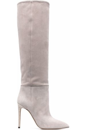 PARIS TEXAS Pointed-toe knee-high boots