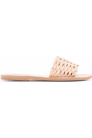 Ancient Greek Sandals Interwoven-strap sandals