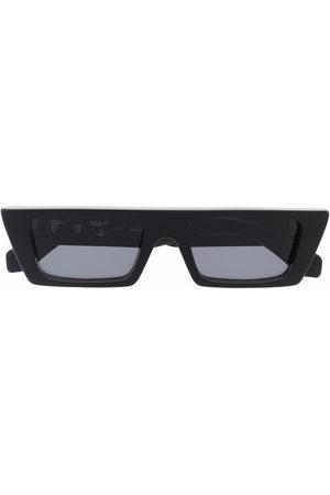 OFF-WHITE Sluneční brýle - MARFA SUNGLASSES BLACK DARK GREY