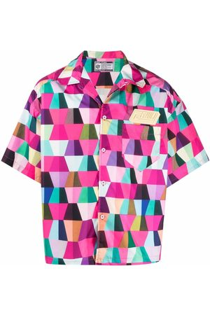 Formy Studio Geometric-print short-sleeved shirt
