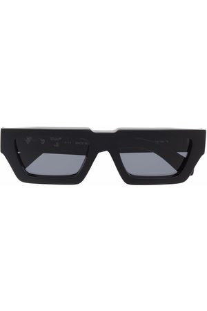 OFF-WHITE Sluneční brýle - MANCHESTER SUNGLASSES BLACK DARK GREY