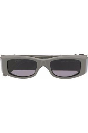 Palm Angels Sluneční brýle - Rectangle-frame Angel sunglasses