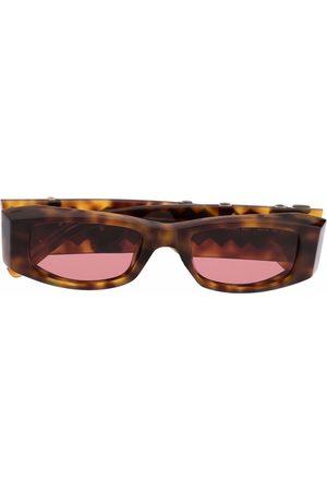 Palm Angels Sluneční brýle - Rectangle-frame Palm sunglasses