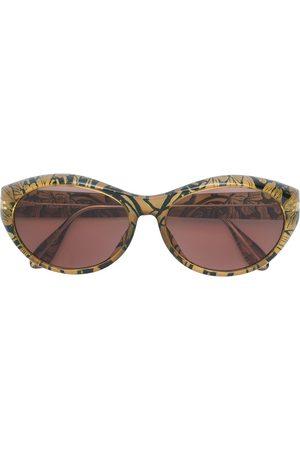 paloma picasso vintage Ženy Sluneční brýle - Floral framed sunglasses