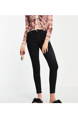 Pull&Bear Ženy S vysokým pasem - Tall push up jean in black