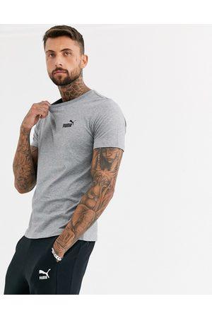 PUMA Essentials small logo t-shirt in grey