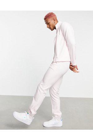 ASOS Smart slim jogger co-ord in pastel pink