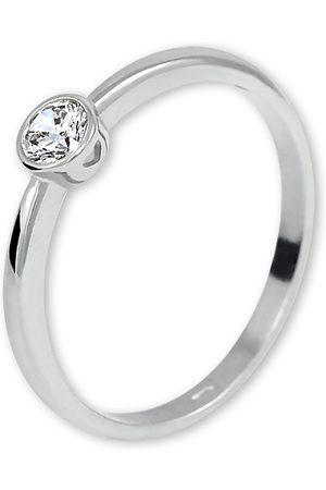 Brilio Stříbrný zásnubní prsten 426 001 00575 04 48 mm