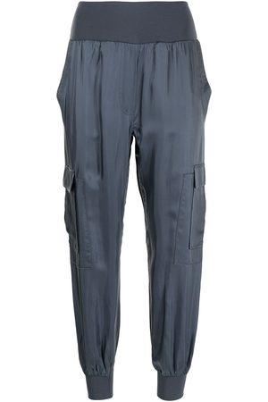 Cinq A Sept Ženy Kapsáče - Tapered cargo cotton trousers