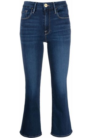 Frame Ženy Bootcut - Le Crop Mini Boot jeans