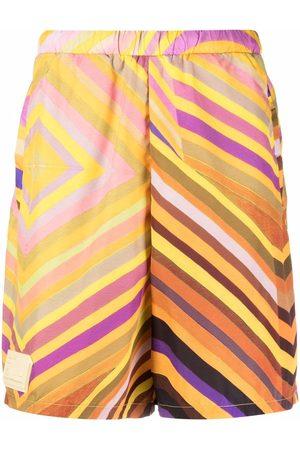 Formy Studio Muži Bermudy - Crono striped shorts