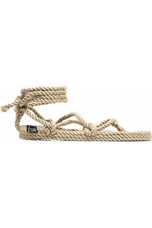 Nomadic state of mind Knotted rope sandals