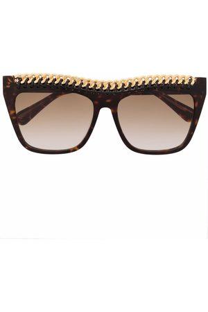 Stella McCartney Ženy Sluneční brýle - Chain-embellished sunglasses