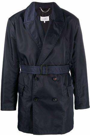 Maison Margiela Muži Trenčkoty - Belted waist trench coat