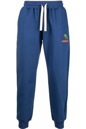 Casablanca Casaway-embroidered track pants