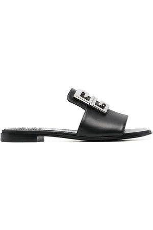 Givenchy Ženy Sandály - 4G logo-plaque sandals