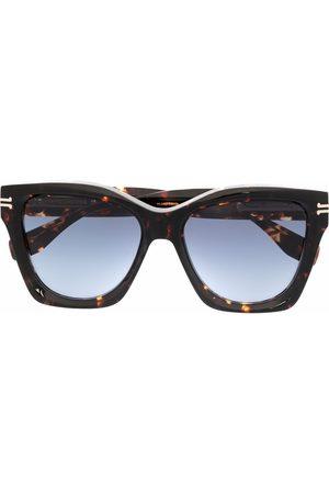 Marc Jacobs Tortoiseshell square-frame sunglasses