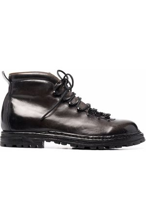 Officine creative Arctic leather lace-up boots