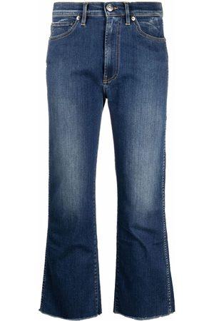 3x1 Ženy Bootcut - Flared cotton jeans