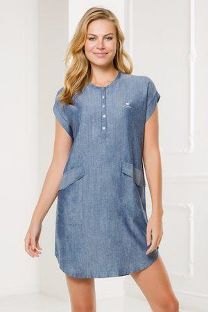 Coveri Ženy Volnočasové - Dámské volnočasové šaty Navetta modré