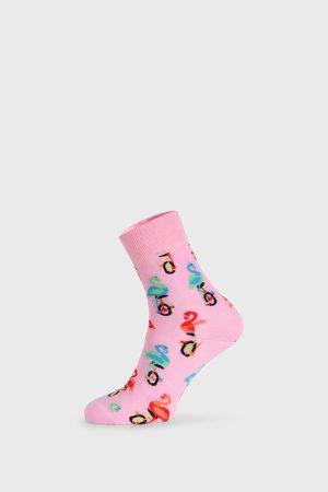 Happy Socks Ponožky - Ponožky Flamingo Half Crew