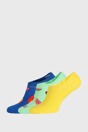 Happy Socks 3 PACK ponožek Fruits No Show