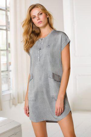 Coveri Dámské volnočasové šaty Navetta šedé