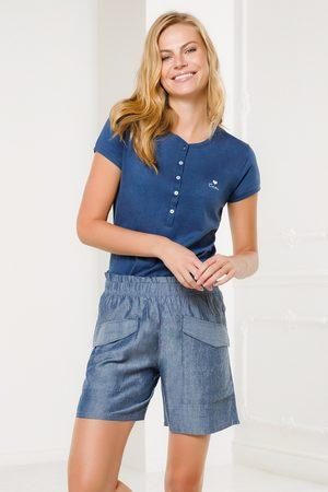 Coveri Dámský domácí komplet Pantalone modrý