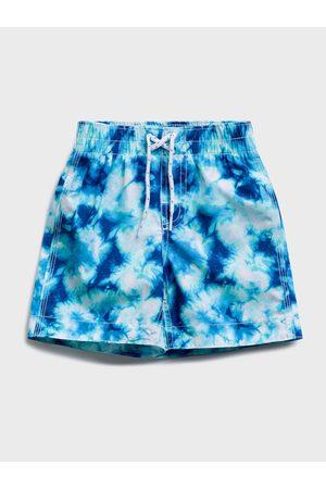GAP Modré klučičí dětské plavky swim trunk