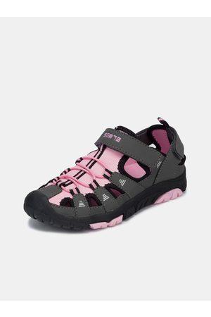 sam 73 Šedo-růžové holčičí sandály
