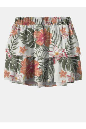 NAME IT Zeleno- holčičí vzorovaná sukně Vinaya