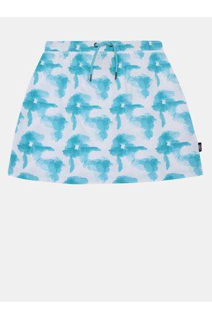 sam 73 Bílo- holčičí vzorovaná sukně