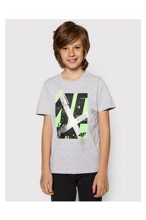 4F Chlapci S límečkem - T-Shirt