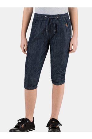 sam 73 Tmavě modré holčičí 3/4 kalhoty